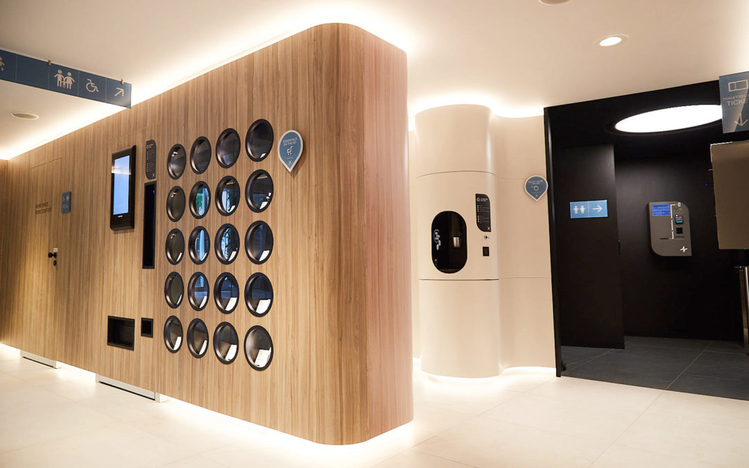 ONE HUNDRED restrooms wins the iF DESIGN AWARD 2020