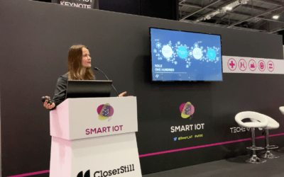 ONE HUNDRED AT SMART IOT LONDON